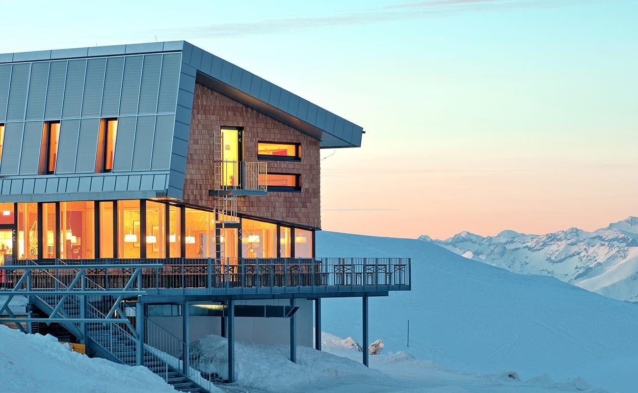 Dobratsch-Gipfelhaus